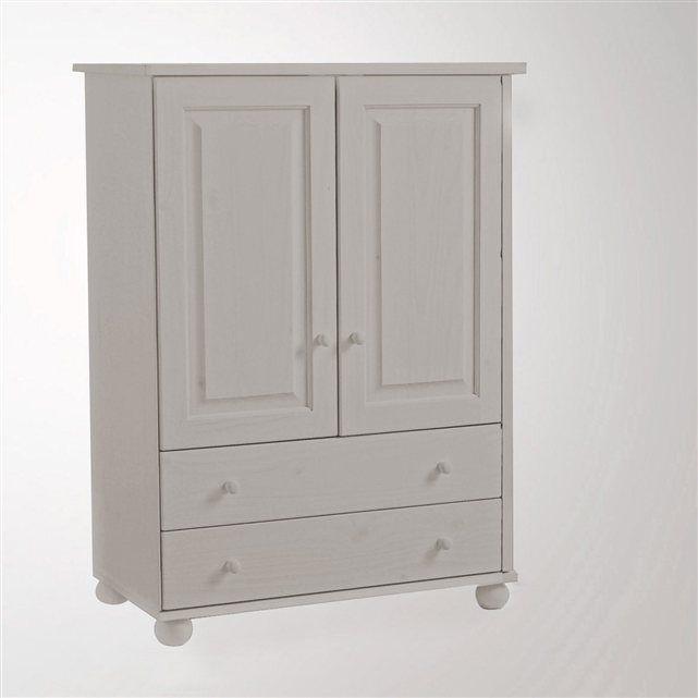 Les 25 meilleures id es concernant armoire pin massif sur pinterest etagere - La redoute armoire metallique ...