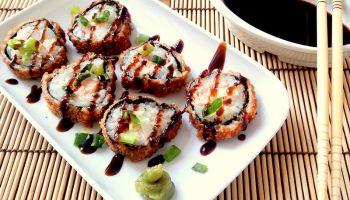 Como fazer Hot roll (sushi empanado)