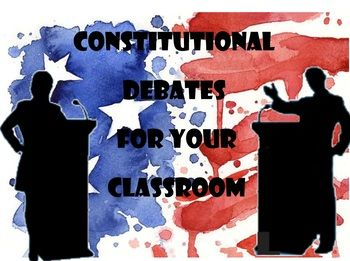 Included in this packet are 5 landmark Supreme Court cases that contain a brief background of the case itself and a set of arguments presented by both sides, a Debate Format Instruction Sheet for your classes to participate in 1:1 debates as well as a Case Decision Information Sheet.Cases include: Bush v Gore, United States v Nixon, TVA v Hill, Rostker v Goldberg, and United States v VMIEssentially you can guarantee EVERY student reads, prepares and participates in a debate.