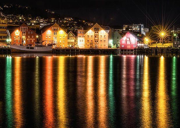 """""""Tromsø Havn"""" - Veggbilder Fotokunstner - Veggbilder.no"""