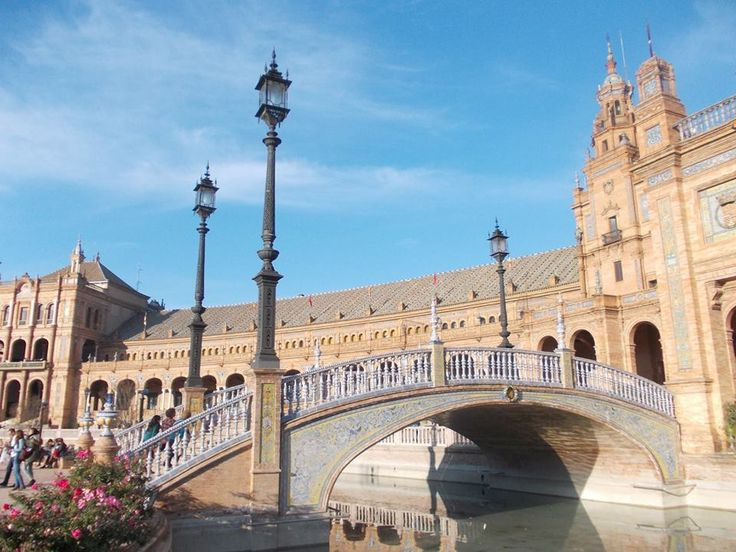 Plaza de España - a must-see in Seville. The pictures are not able to show its real magnificence.   www.roomsevilla.com