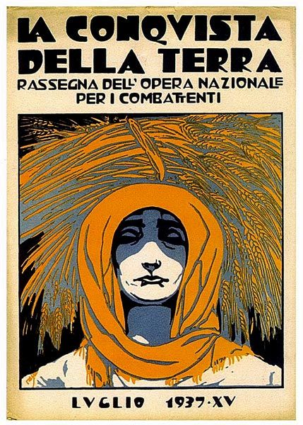 Cambellotti Duilio - Fascismo -