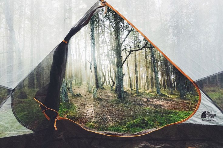 A View From A Tent