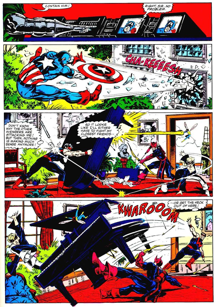 Marvel Graphic Novel Issue #27 - Avengers - Emperor Doom - Read Marvel Graphic Novel Issue #27 - Avengers - Emperor Doom comic online in high quality