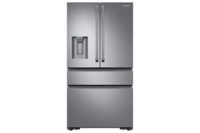 Discover the latest features and innovations available in the 23 cu. ft. Counter Depth 4-Door French Door Refrigerator with Polygon Handles.