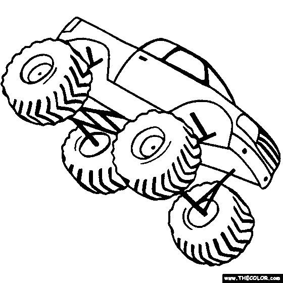 free monster truck coloring pages color in this picture of a ginormous monster truck and others with our library of online coloring pages