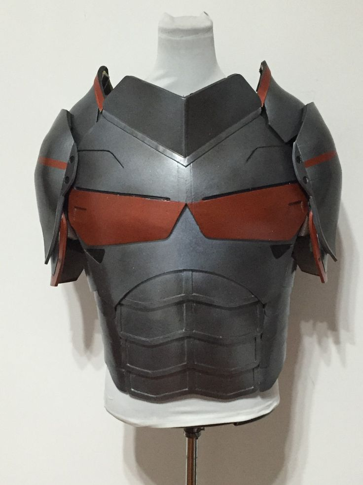 Already made Deathstroke armor from DC comics for sale at a great price by cosplaymandy on Etsy