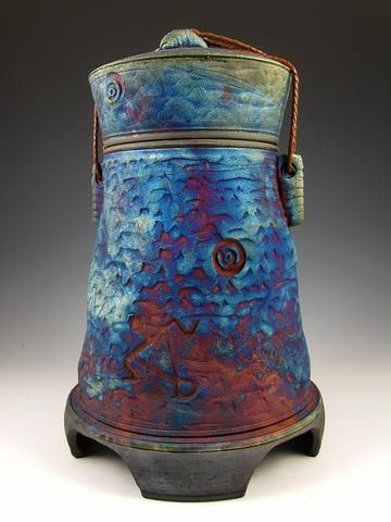 77 Best Handcrafted Raku Style Urns Images On Pinterest Cremation Urns Urn And Ash