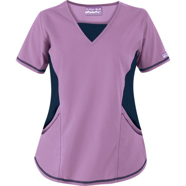 Fashion Scrubs found on Polyvore #scrubs, #medicaluniforms, #fashion, #nurse