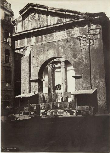 Portico di Ottaviano 1860 (ca)