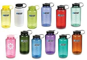 I own at least 5 Nalgene bottles, and one of them has survived 10 years with clumsy me!