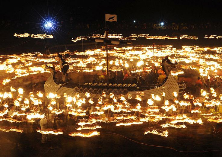 Up Helly Aa Fire Festival — Lerwick, Shetland, Scotland | The 15 Wildest Parties Around The World