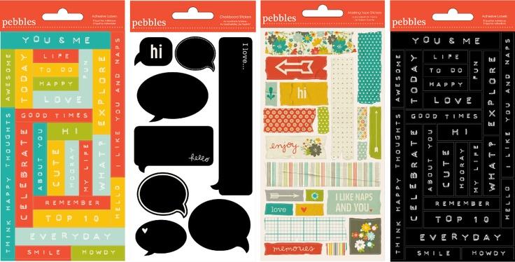 Pebbles Inc: Summer 2012, Scrapbook Inspiration, Scrapbooking, Pebbles, Scrapbook Products, Cha Summer