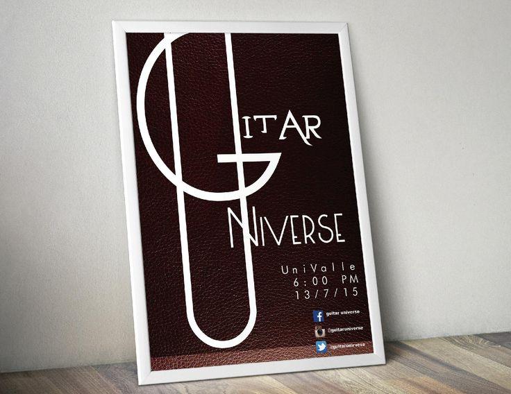 Guitar Universe Poster