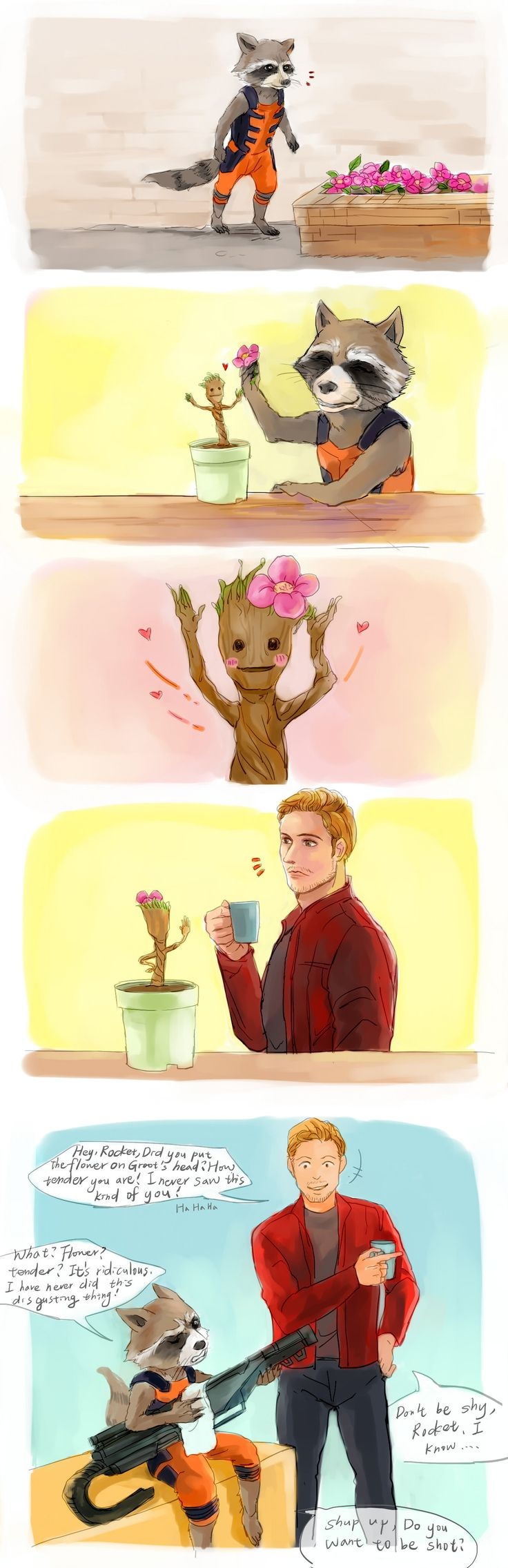 GOTG Rocket and Groot by fonin.deviantart.com on @deviantART