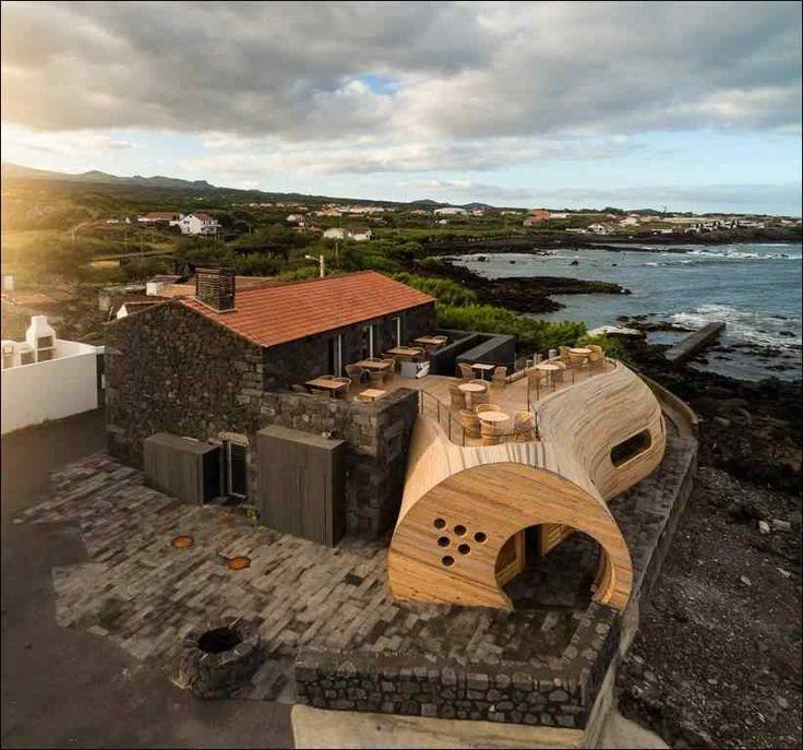 Бар Cellar на острове Пико в Португалии