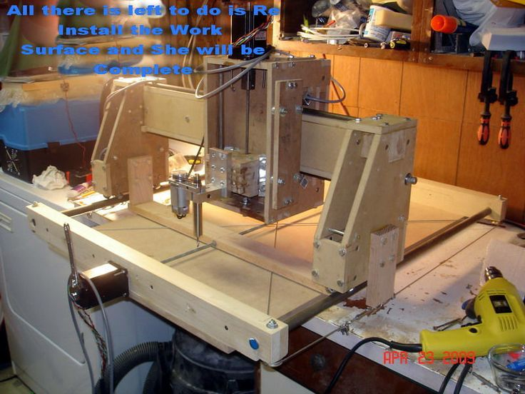 how to make your own cnc machine