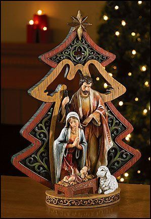 Christ is born, new King is born, Savior is born...oh Holy Night!