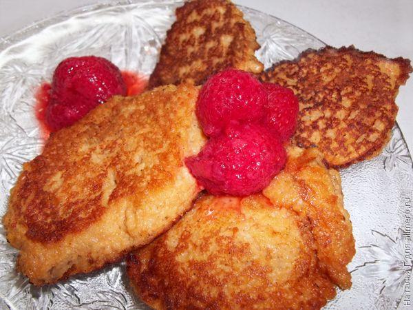 Диетические оладьи из яблок и овсянки / Рецепты с фото