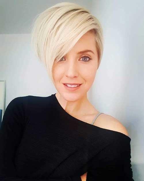 Kurz-Sassy-Blondes Haar Neue Kurze Frisur Trends Frauen 2019