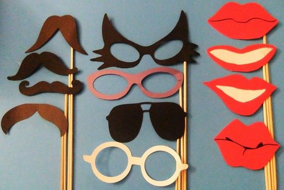 Fun for parties, or photo booths.