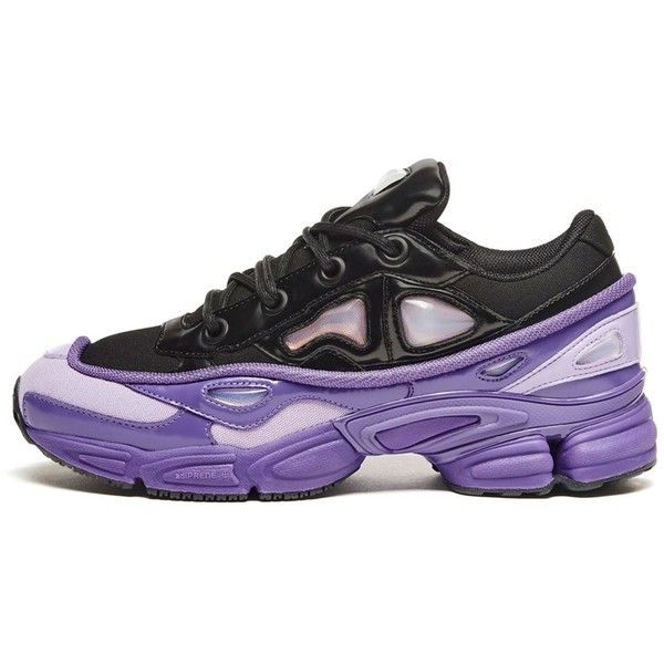 the latest f9122 5b29a Adidas By Raf Simons Rs Ozweego Iii (390) ❤ liked on Polyvore featuring  mens fashion, mens shoes, light purple, mens mesh shoes, mens shiny shoes,  ...