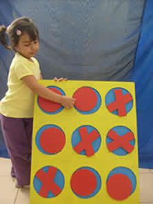 Mi Sala Amarilla: El juego del Ta-Te-Ti