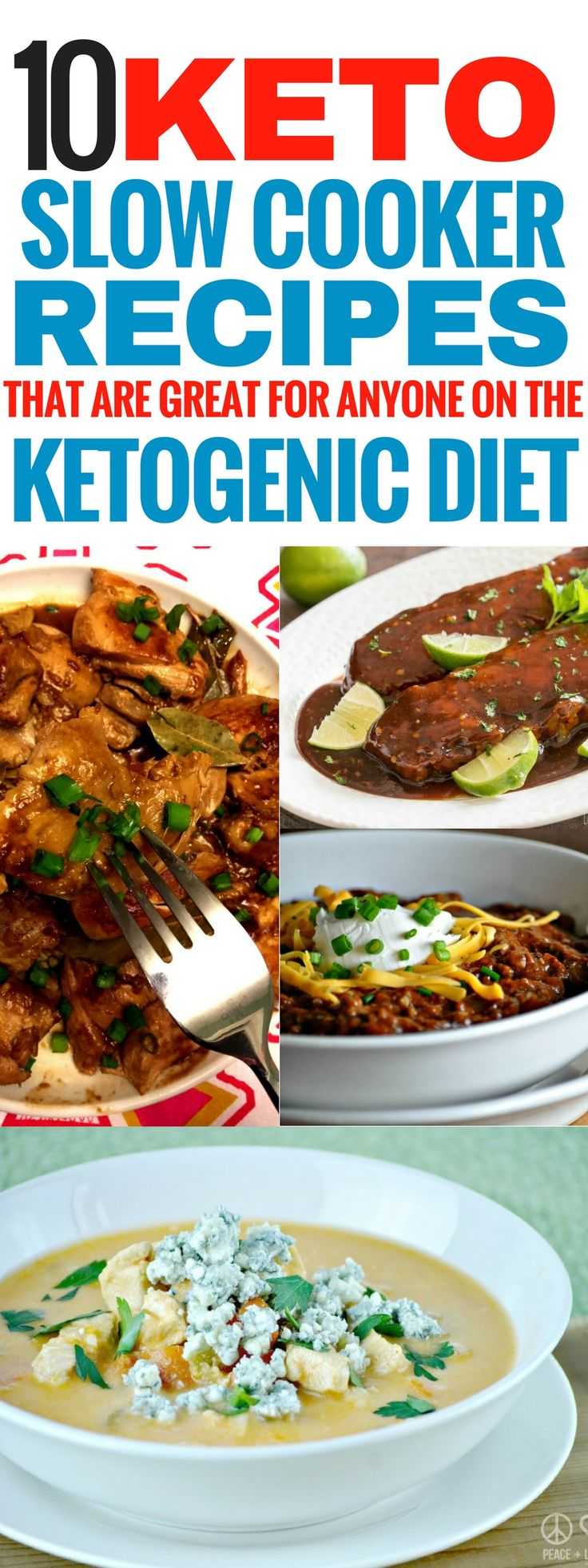 The keto slow cooker recipes are THE BEST! I'm so glad I found these slow cooker ketogenic recipes. Now my family and I can enjoy some lunch and dinner recipes that are so easy to make and healthy too! These low carb crock pot recipes are perfrct for easy keto meals! Pinning this for sure!