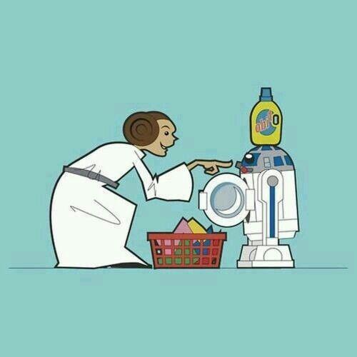 Star wars laundry humor