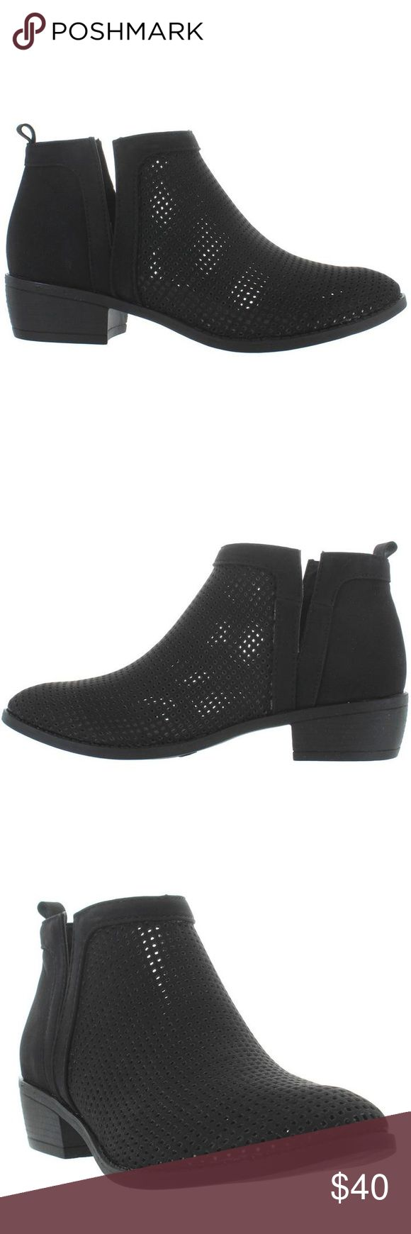 Restricted Black Ankle Boots New! Restricted Shoes