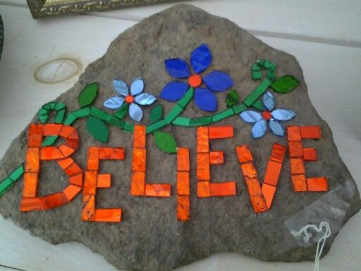 Mosaic rock....excelleservices.com