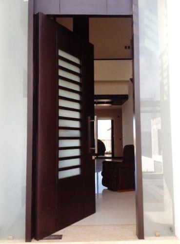 M s de 1000 ideas sobre puertas de aluminio modernas en - Puertas de madera con cristal ...