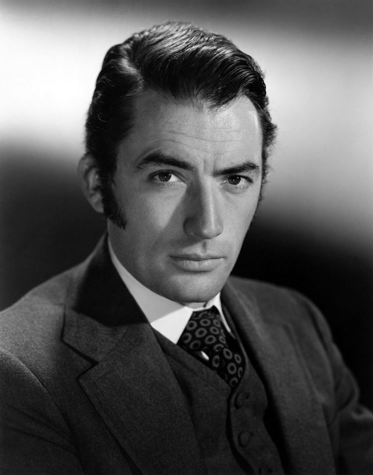 Gregory Peck | Portrait of Gregory Peck for The Great Sinner ...