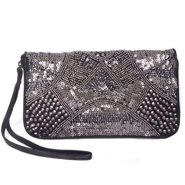 uma and leopold /  City Lights Wallet / hand beaded. @ uma and leopold stores and online shop: http://umaandleopold.com/