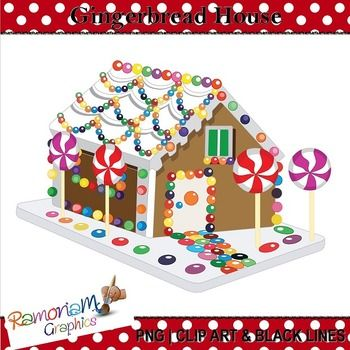 FREE!!! In this free set you will get a free gingerbread house in the following formats: black and white; colored with colored outlines and colored with black outlines (3 images). Each image is PNG and of 300dpi.
