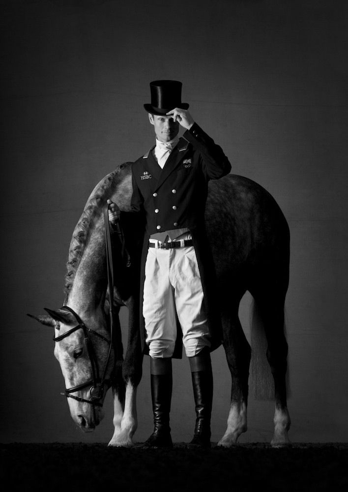 Mark Harvey Horse Commissions William fox Pitt