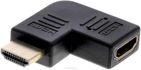 Greenconnect GC-CV306, Black адаптер-переходник HDMI  — 330 руб. —  Адаптер-переходник Greenconnect GC-CV306 с левым углом дает вам гибкость, необходимую кабелю при подключении в труднодоступных местах. Также этот HDMI адаптер помогает устранить возможные повреждения портов при подключении HDMI на телевизоре и других устройствах из-за изгиба кабеля.