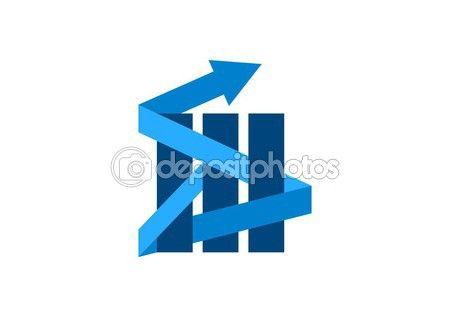Finance,logo,arrow,real estate,company icon,corporate business symbol success — Stock Vector © radekgibran #57701293 - http://depositphotos.com?ref=3904401