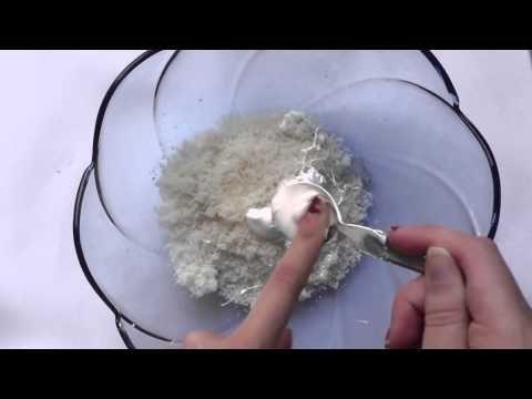 Como hacer Pasta de miga de pan(migajon) - YouTube