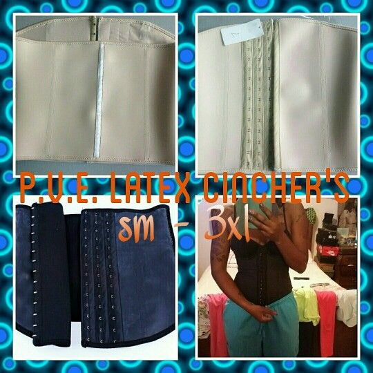 To place an order . Prettyvirginempress.etsy.com Tones and firms core, it now comes with 3 rows! This waist trainer supports posture, aids in waistline reduction . It reduces the waistline up to three sizes instantly . Aids in accelerated weight loss of up to four inches in Four to six weeks when worn 8 hours a day. If you want an instant figure and long lasting results . Order your P.V.E. LATEX CINCHER'S ladies. Authentic imported from Colombia #fat burner # loose extra inches # Provies…