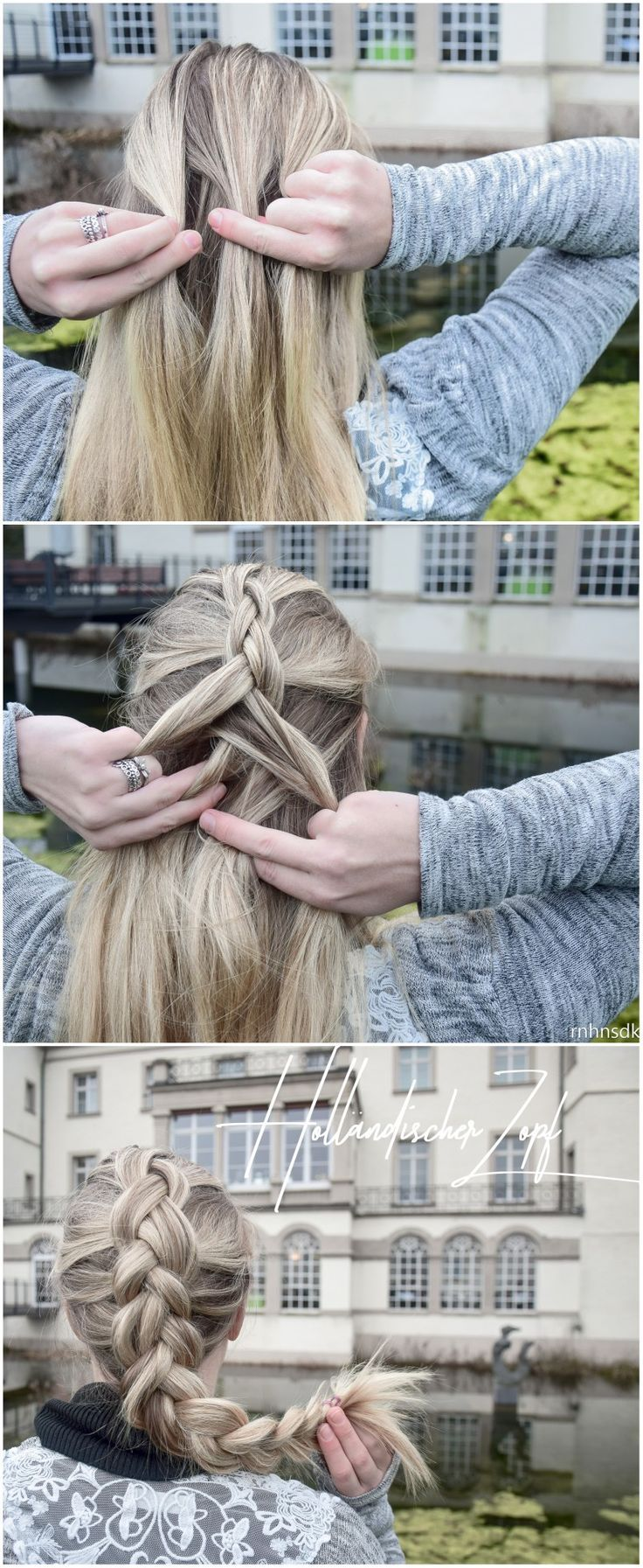 How do I do … a Dutch braid – – #Genel