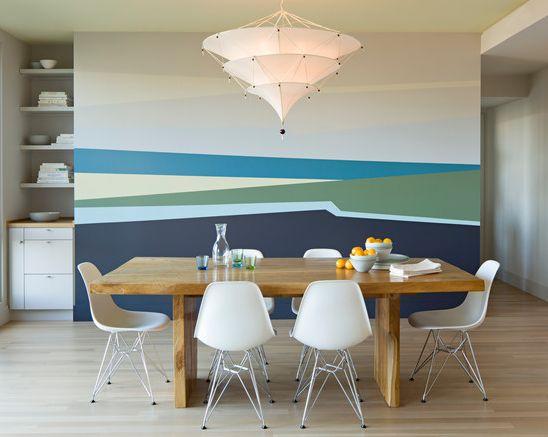 Captivating Die Wandgestaltung Mit Farbe Kann Die Atmosphäre Im Zimmer Völlig  Verändern. Sehen Sie Sich Unsere Tollen Wand Streichen Ideen An Und  überzeugen Sie Sich Photo