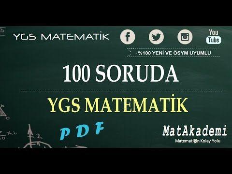100 Soruda YGS Matematik / Tam İsabet Serisi