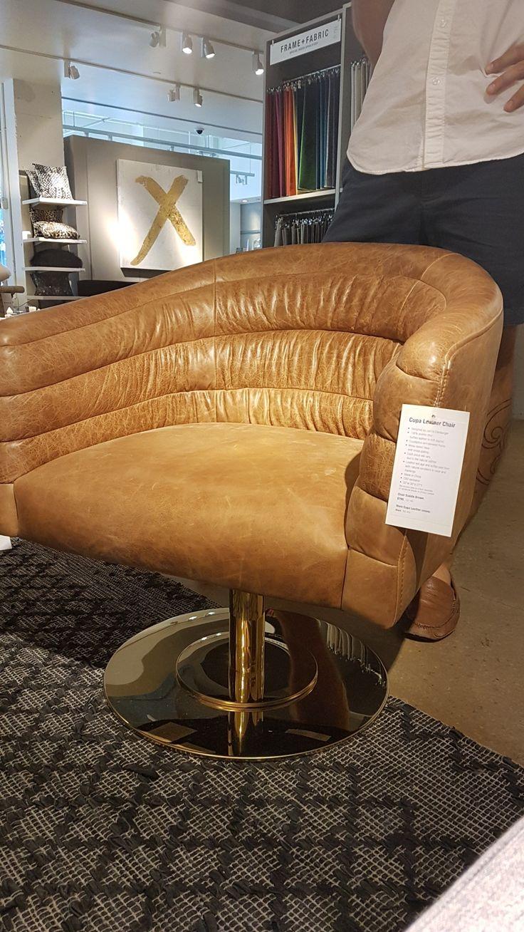 wohnzimmermobel oslo : Die Besten 25 Leather Swivel Chair Ideen Auf Pinterest