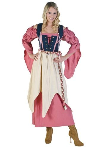 Renaissance Pirate Wench Costume...pretty sure I could make this a hobbit costume!! ♥