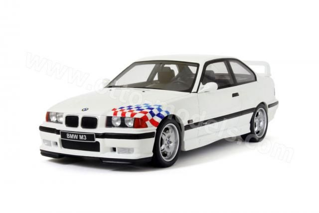 OttO: 1995 BMW M3 (E36) Lightweight (LTW) - White (260) in 1:18 scale