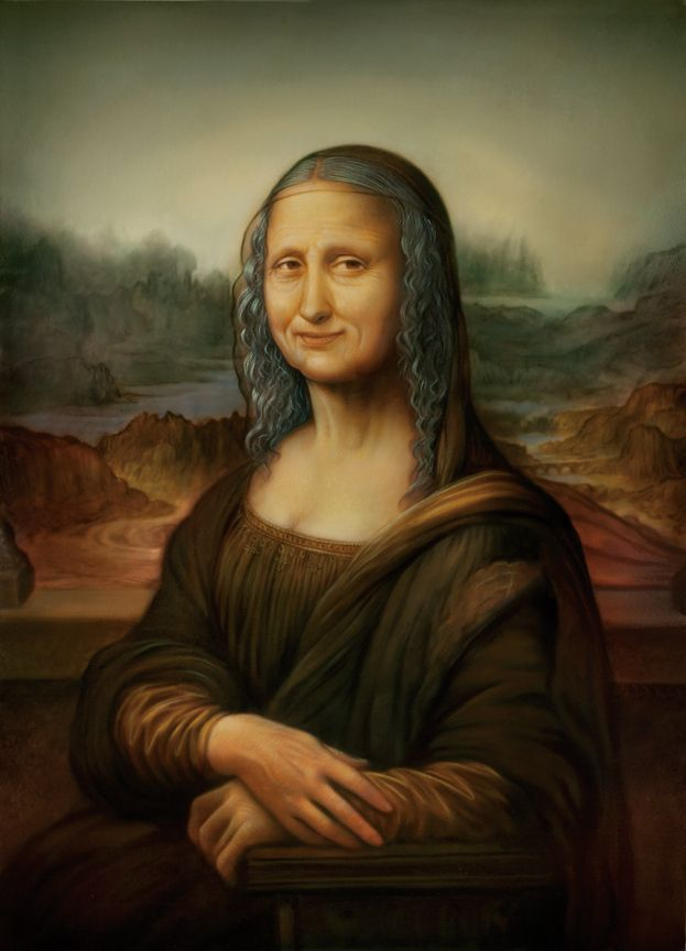 Older Mona Lisa [Tim O'Brien] (Gioconda / Mona Lisa)