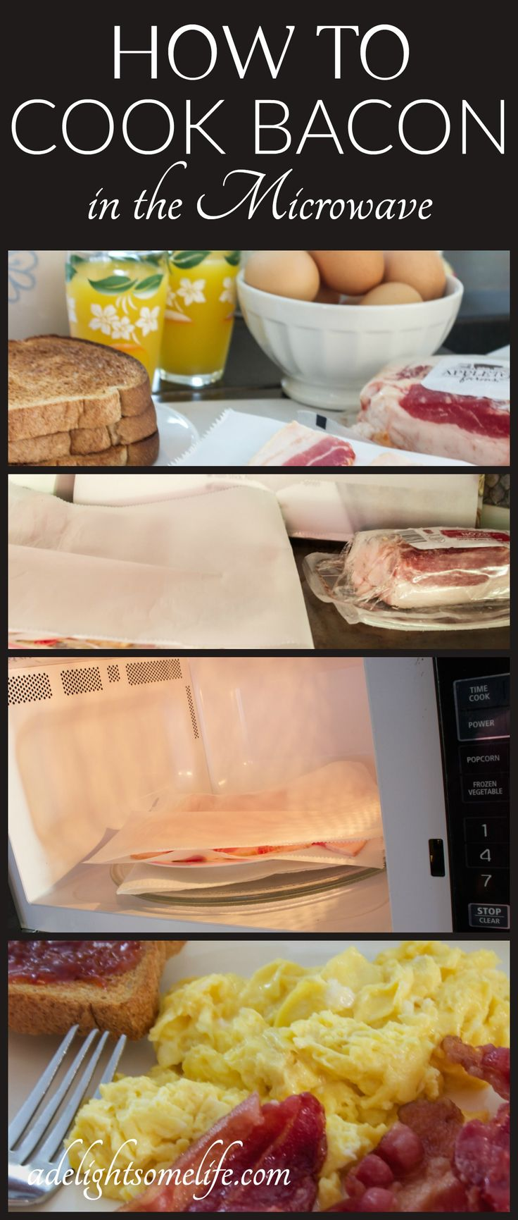 How To Cook Crispy Bacon In The Microwave
