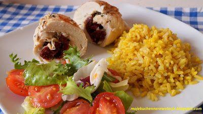 Moje                                                                       Kuchenne Rewelacje  : Drobiowe roladki z mozzarellą i suszonymi pomidora...