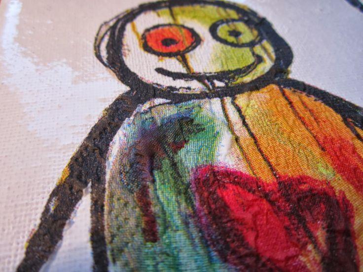 Paul Pava inspireret vægpynt | Leth.it.be.